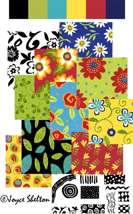 Teaparty blog patterns