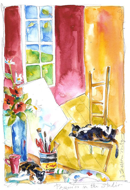 Watercolor studio2